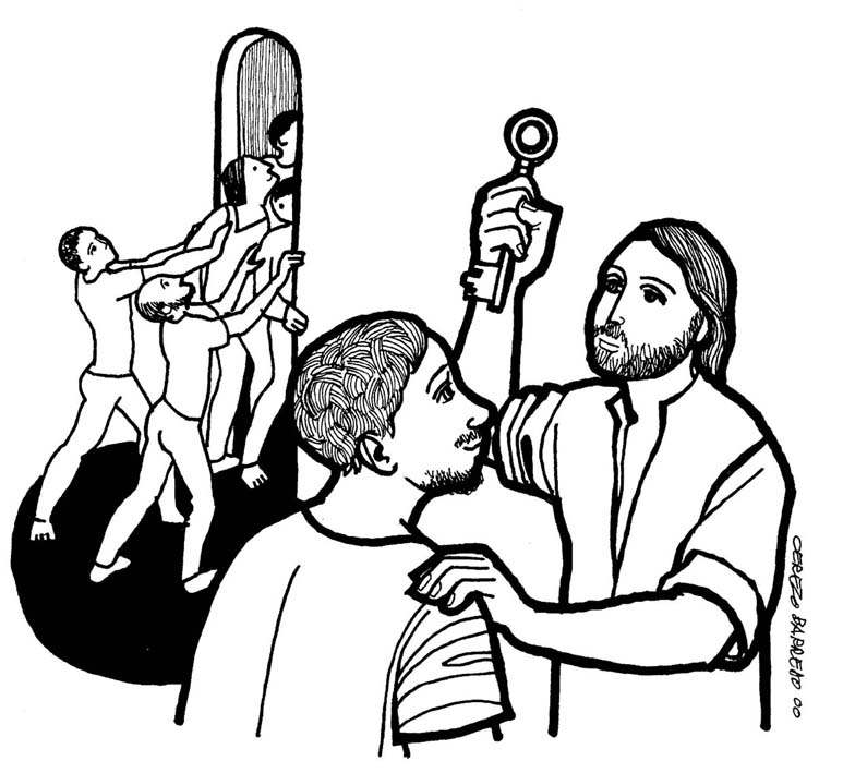 rejection clip art. Clip Art Images: Luke 13:22-30