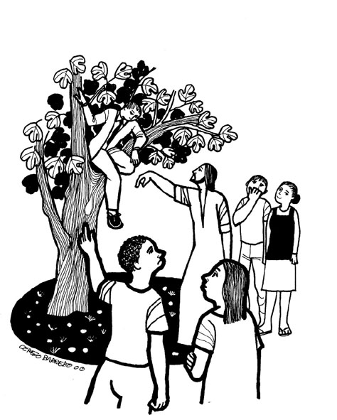 ▷ Zacchaeus: Coloring Pages & Books - 100% FREE and printable! | 591x474